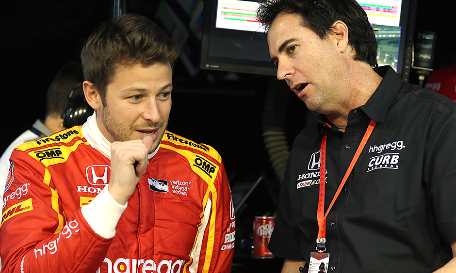 Marco Andretti and Bryan Herta