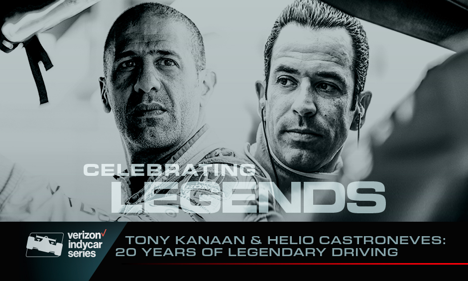 Tony Kanaan and Helio Castroneves: 20 Years of Legendary Driving