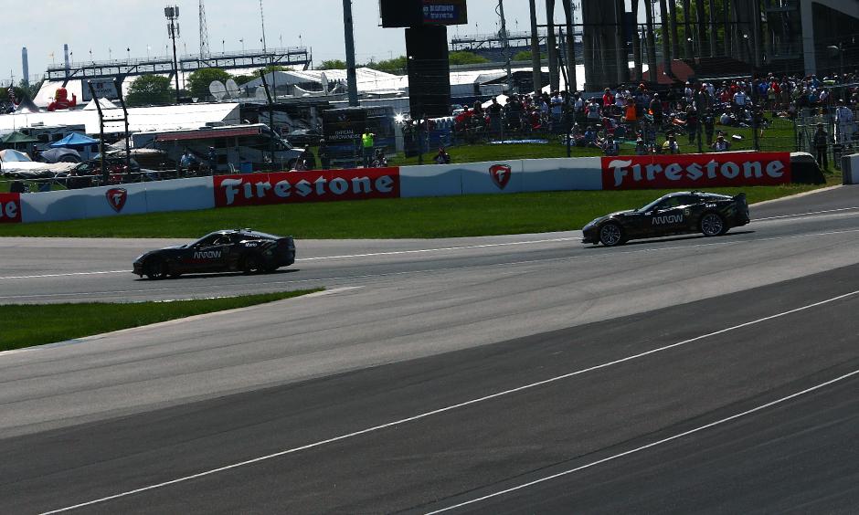 Mario Andretti and Sam Schmidt