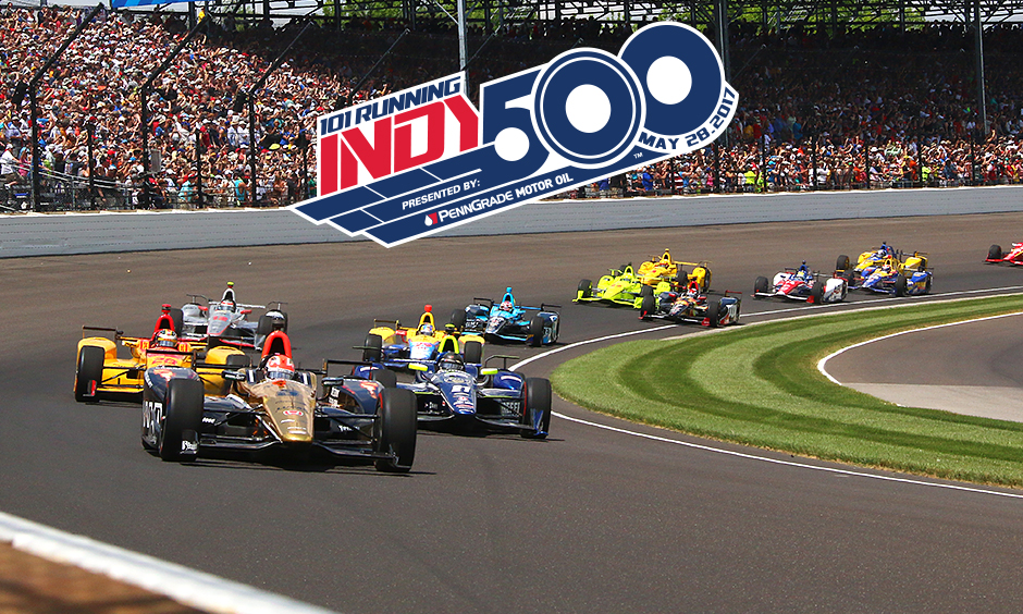The 101st Running of the Indianapolis 500