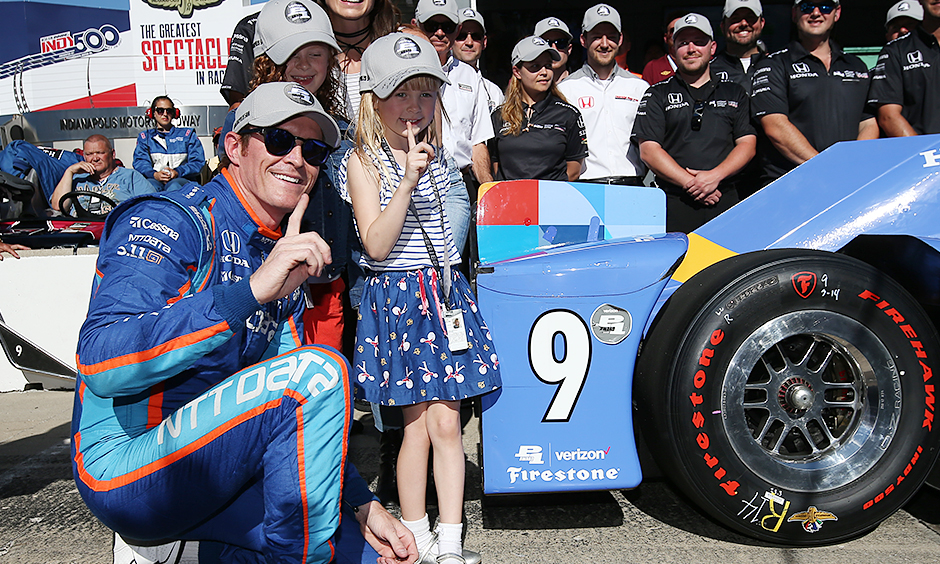 Indianapolis chip ganassi racing driver scott dixon claimed his 26th indy car pole today in thrilling fashion posting a four lap average of 232 164