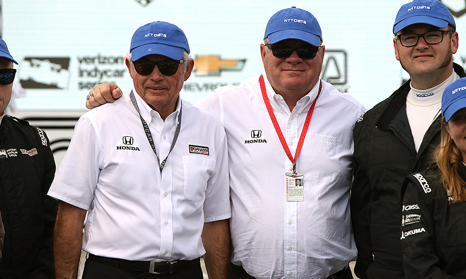 Mike Hull and Chip Ganassi