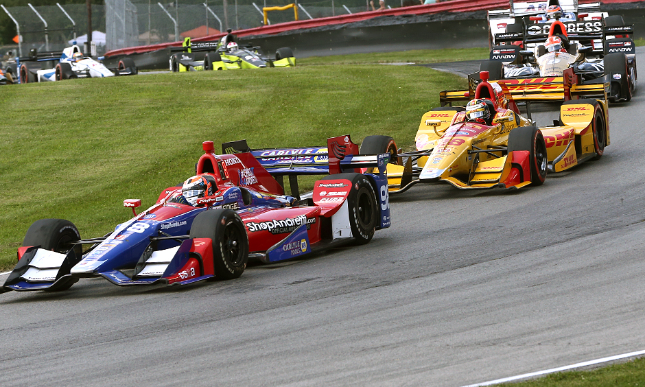 Alexander Rossi and Ryan Hunter-Reay