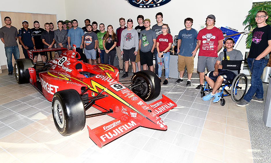 Chip Ganassi Racing with IUPUI Engineering Students