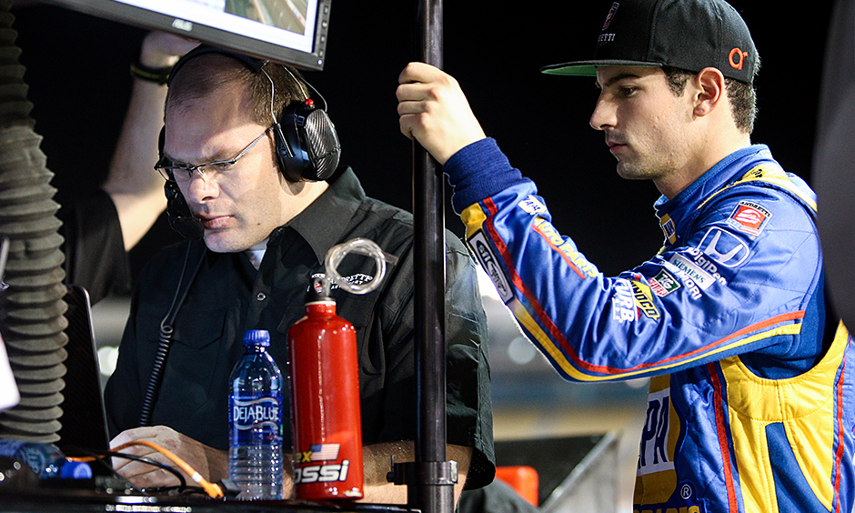 Alexander Rossi and Jeremy Milless