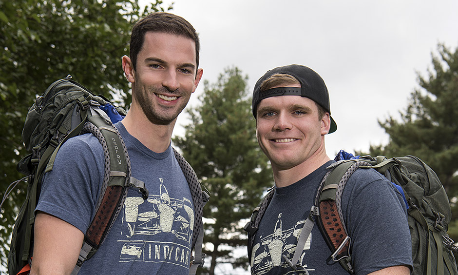Alexander Rossi and Conor Daly will team up for the Amazing Race.