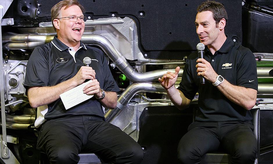 Jim Campbell and Simon Pagenaud