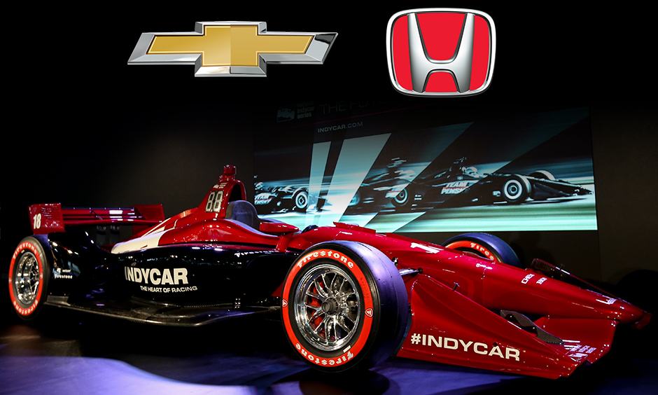 New car for 2018 has INDYCAR manufacturers' engines revving