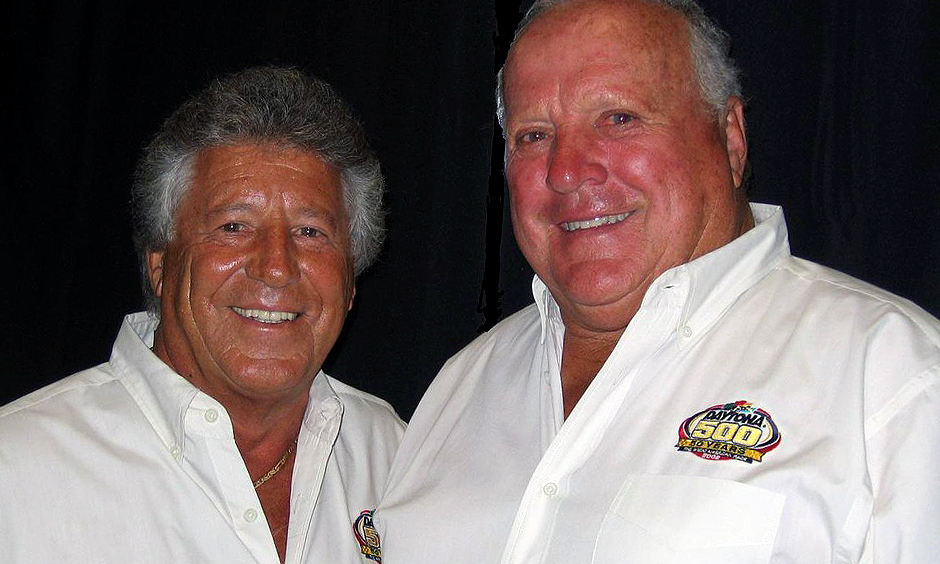 Mario Andretti and A.J. Foyt
