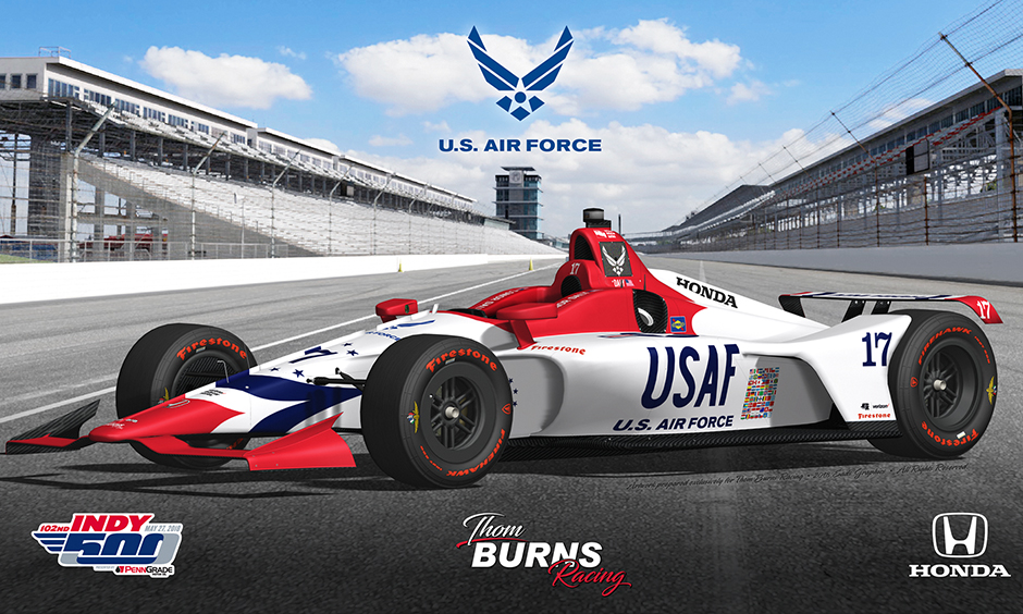 Daly Ready To Soar In Indy 500 With Us Air Force Sponsorship