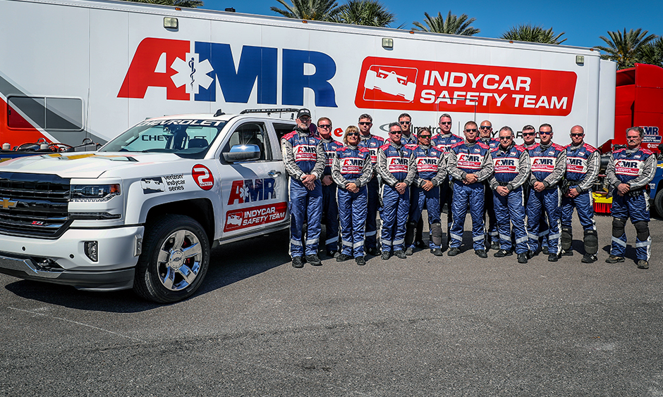 AMR INDYCAR Safety Team