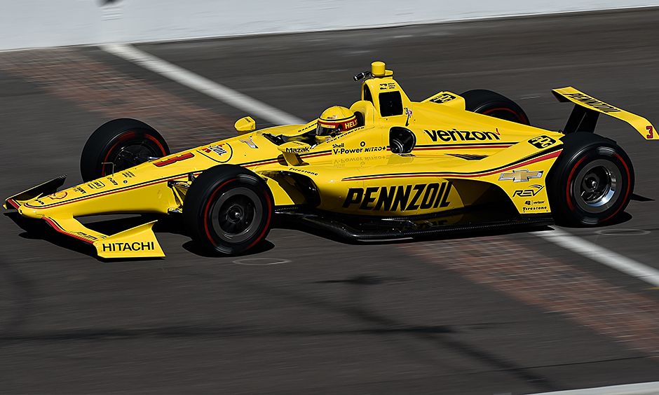 Patrick back at practice at Indy after auto  issue