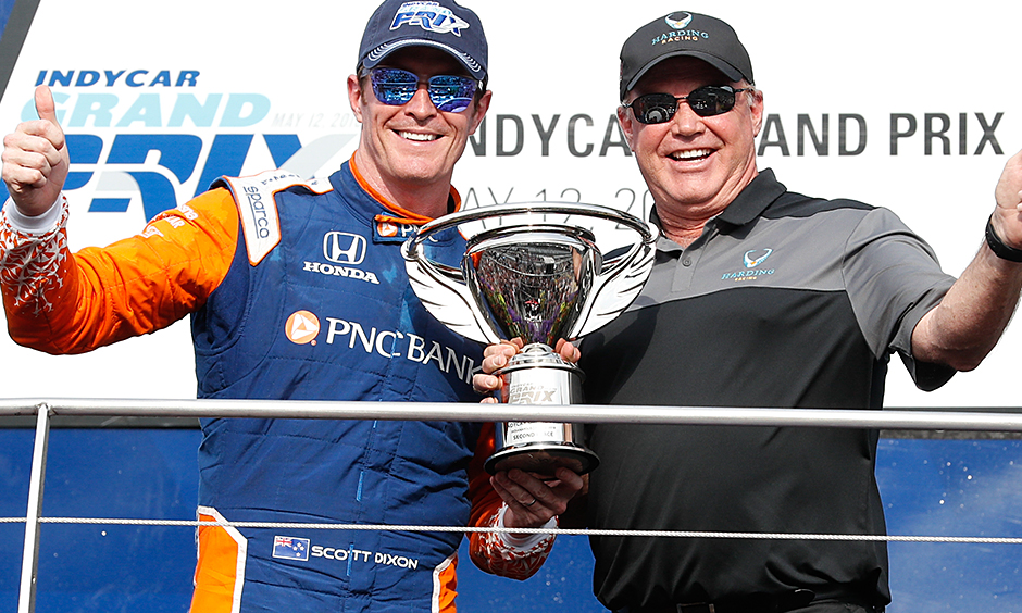 Scott Dixon and Al Unser Jr