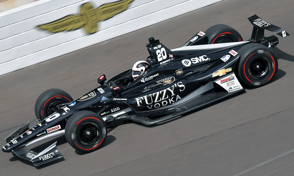 Carpenter Rolls To Third Indianapolis 500 Pole Position