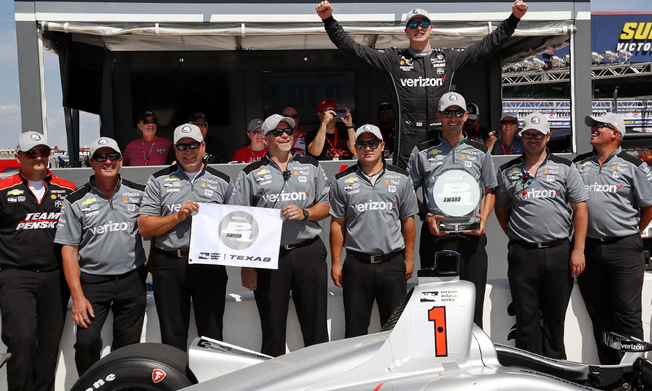 Team Penske dominates DXC Technology 600 qualifying