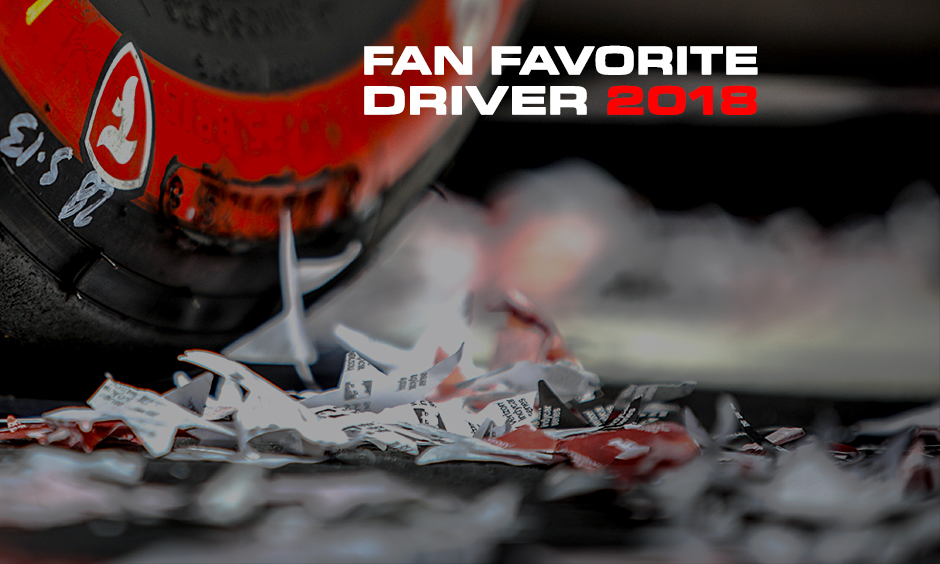 Fan Favorite Driver 2018