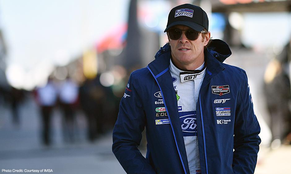 Scott Dixon on pit road at Daytona