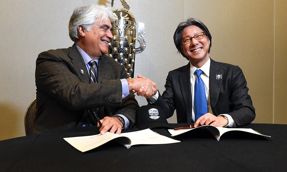 Mark Miles and Tsunehisa Okuno