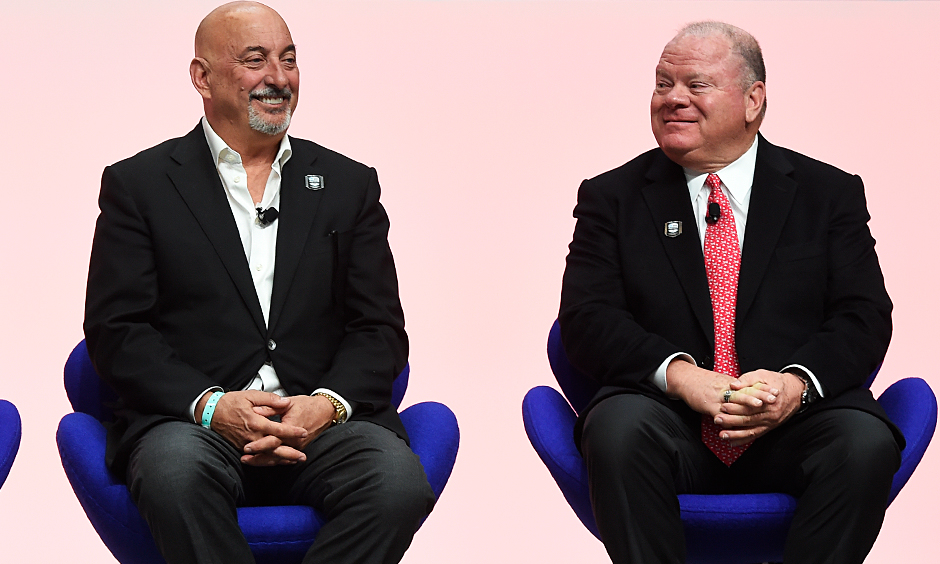 Bobby Rahal and Chip Ganassi