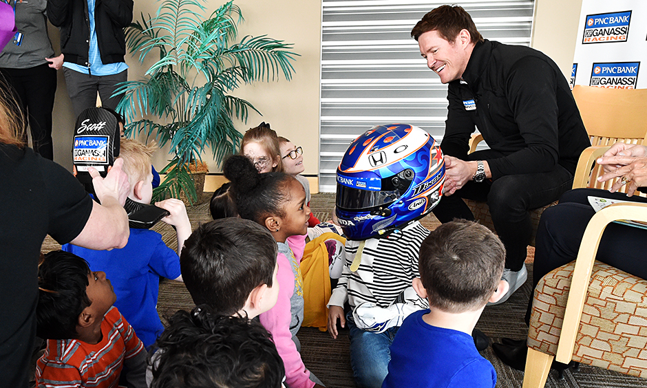 PNC 'banks' on Dixon to inspire children, open new branch