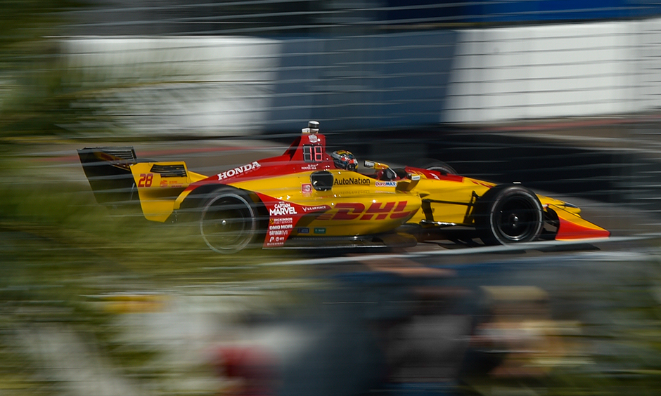 Ryan Hunter-Reay at St. Petersburg