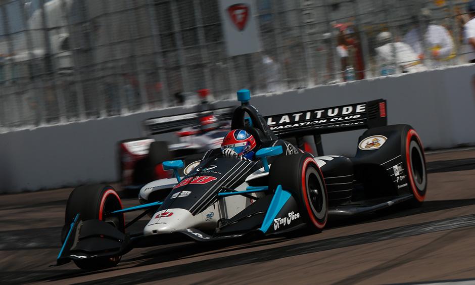 Colton Herta on track St. Petersburg