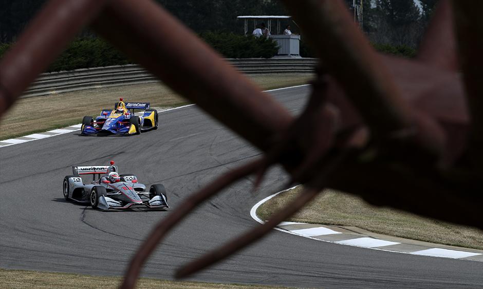 Barber Motorsports Park spider