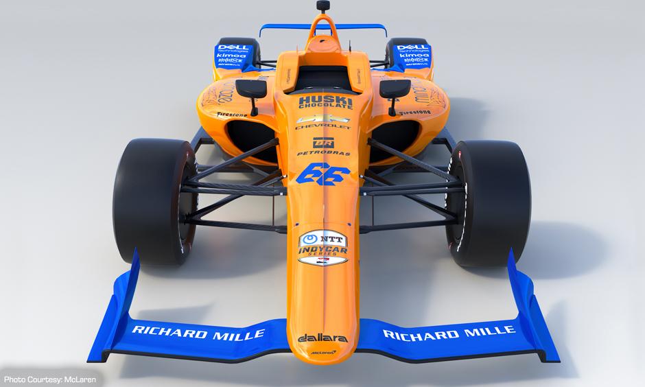 McLaren Indy car reveal