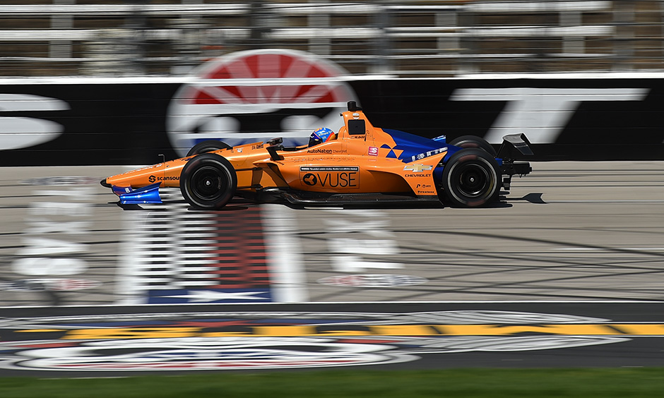 Fernando Alonso at Texas test