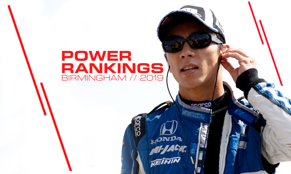 Takuma Sato jumps up in Power Rankings