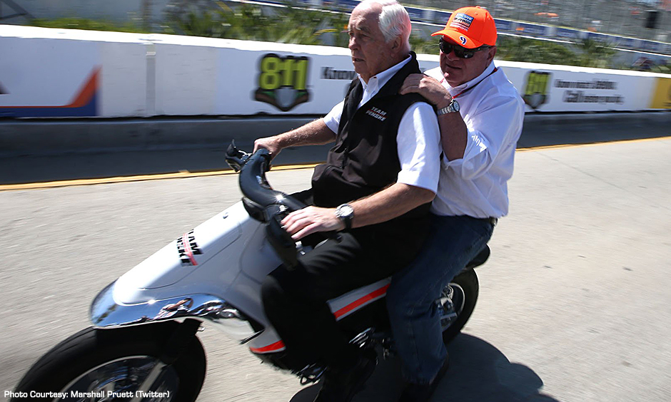 Roger Penske and Chip Ganassi