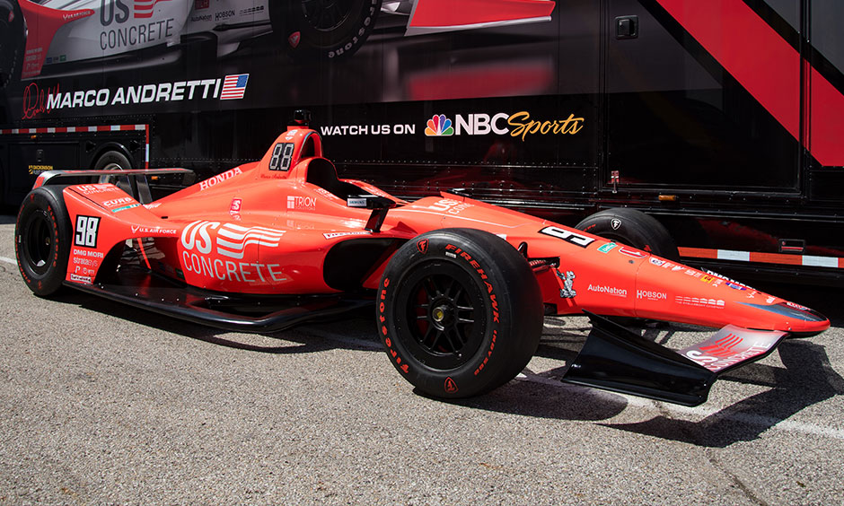 Marco Andretti Indy 500 car