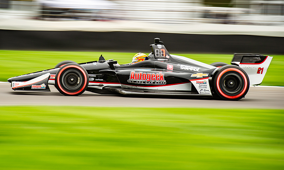 Spencer Pigot on track IGP