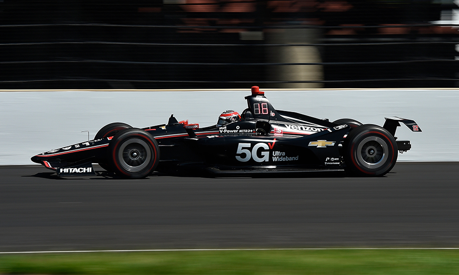 Will Power on track Indy 500 practice