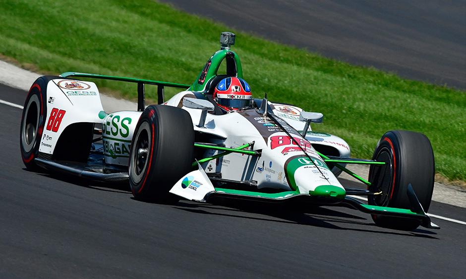 Colton Herta Indy 500 practice