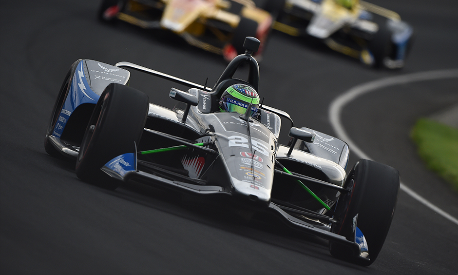 How Many Laps In Indy 500 >> Daly Zooms To Top Of Indy 500 Fast Friday Practice Speed Chart