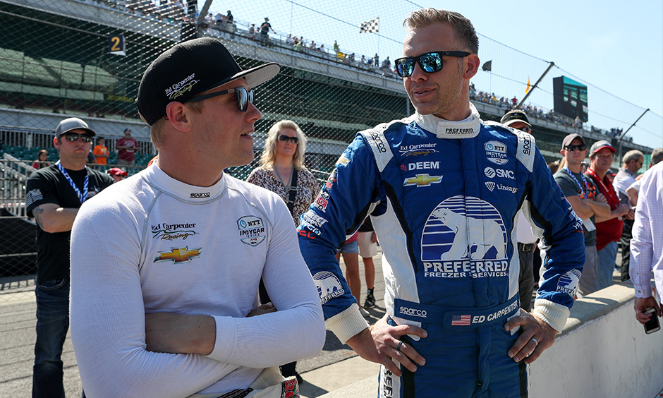 Spencer Pigot and Ed Carpenter