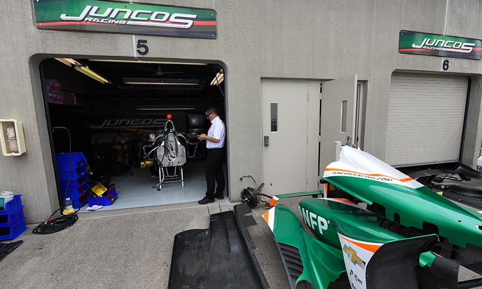 Follow Juncos' inspiring push to build an Indy 500