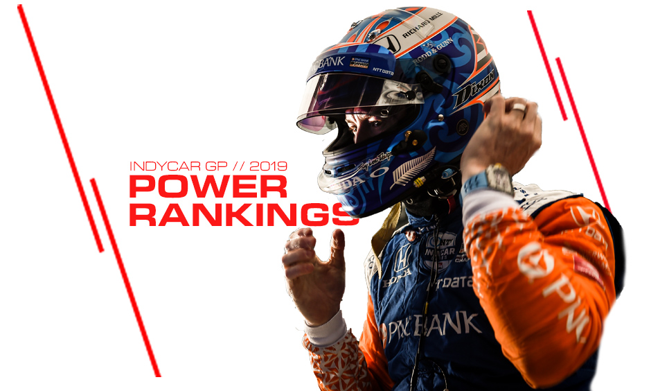 Scott Dixon climbs the INDYCAR Power Rankings.
