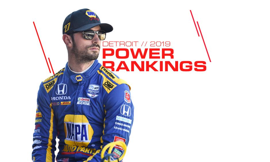 Alexander Rossi Power Rankings