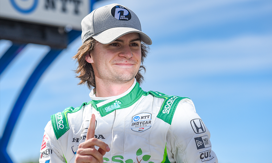 Colton Herta NTT P1 Award winner Road America