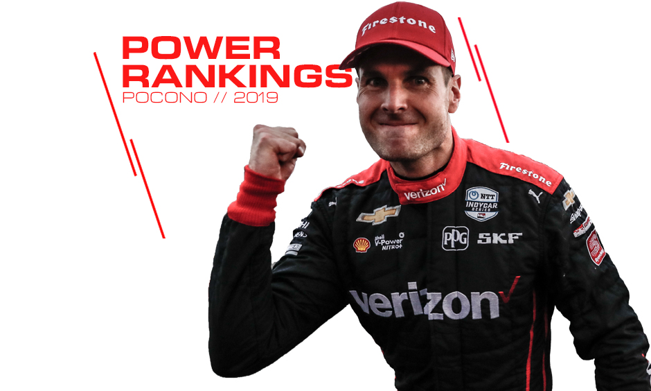 Will Power moves up in 2019 Power Rankings