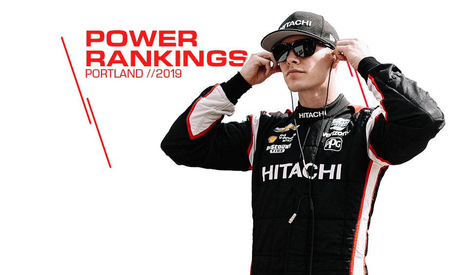 Josef Newgarden Power Ranking Illustration