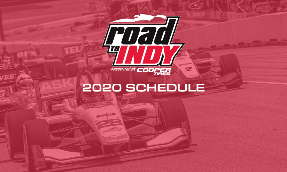Road To Indy 2020 Schedule