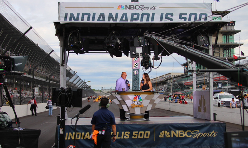 NBC Sports at the Indianapolis Motor Speedway