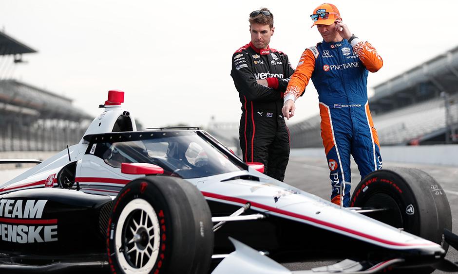 Will Power and Scott Dixon