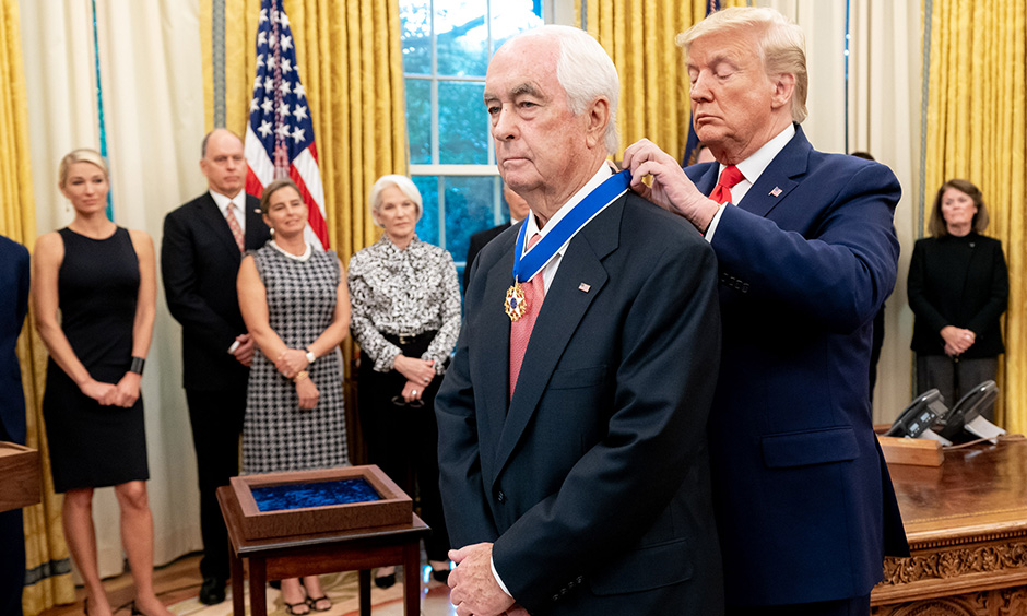 Roger Penske and Donald Trump