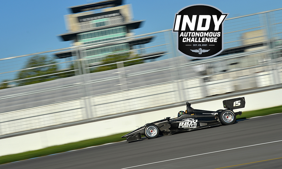 The Dallara IL-15 in action at Indianapolis Motor Speedway