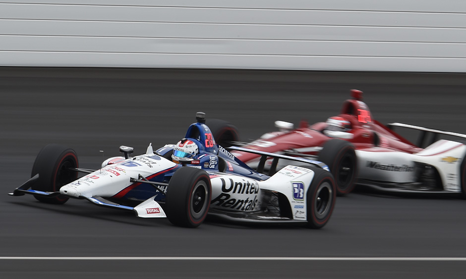 Graham Rahal at Indy