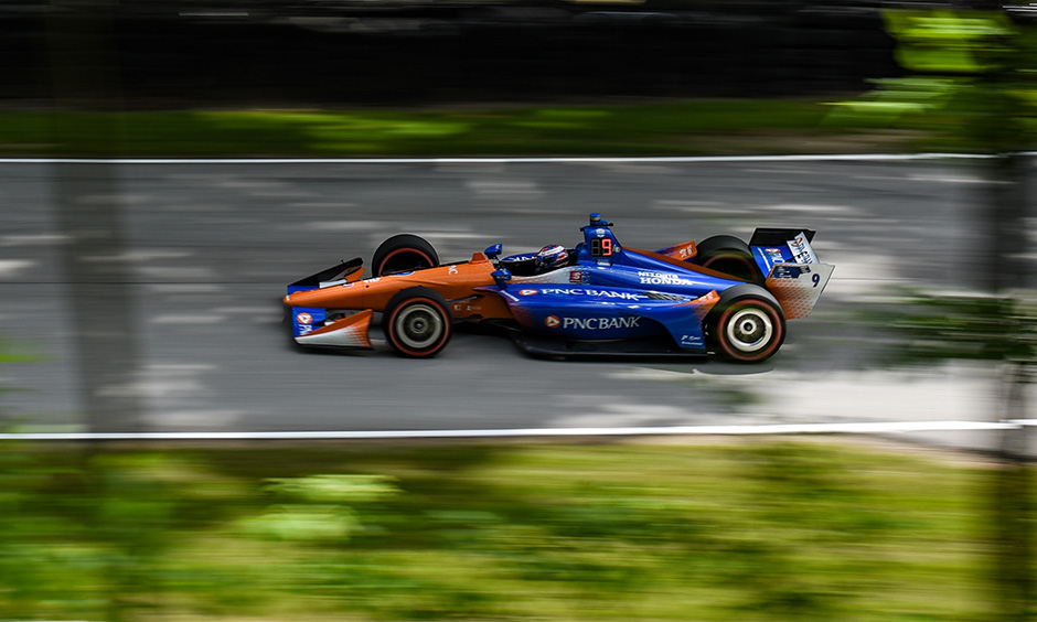 Scott Dixon at Road America
